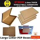 C5 A5  BOX LARGE LETTER STRONG CARDBOARD SHIPPING MAILING POSTAL PIP ROYAL MAIL
