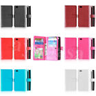 9 Card Slots Leather Wallet Case Cover For Huawei Ascend P8 Lite 5.0 Inch Phone