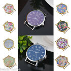 New Fashion Flower Printed Watch Wrist Women Quartz Watch Face For Beading
