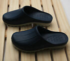 Mens Chef Shoes Slippers Sandal Clogs Water Safety Kitchen Non-Slip Comfort Navy