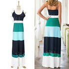Women Boho Long Maxi Evening Party Beach Harness Dress Sundress Summer Sexy NEW