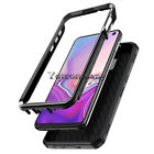 Black Shockproof Hybrid Hard Protective Case Cover For Various Mobile Phones