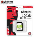 Kingston Canvas Select 16GB 32GB 64GB SDHC Class 10 SD Memory Card UHS-I U1