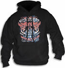 El Bandito 1977 Custom Made Cycles Bandit Hoodie Hooded Top Front Print S -2XL