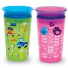Munchkin Miracle 360 Babys Toddlers Childrens Spill Proof Sippy Cup 296ml Beaker
