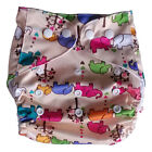 Waterproof Nappy Wrap Diaper Baby Pocket Cover Reusable Printed Washable Cloth