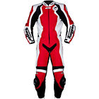 Furygan FRS Prime One Piece Leather Suit - Red - Mens Motorcycle Clothing