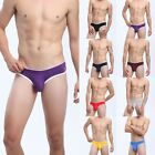 Men's Boys Underwear Boxer Briefs Shorts Bulge Pouch Underwear Underpants Trunks