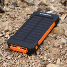 20000mAh Solar Juice Poratble Charger Backup Battery Power Bank for USB Device