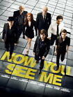 Now You See Me Movie Cast Jesse Eisenberg Mark Ruffalo Wall Print POSTER