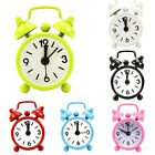 Fashion Outdoor Portable Lovely Dial Number Round Desk Alarm Mini Clock