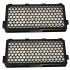 2-Pack Active HEPA Filter for Miele S4000-S8000 Series Vacuum Cleaners, AH50