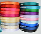 Quality Reels of Satin Ribbon Roll Long Lengths & Width 10,15, 25mm