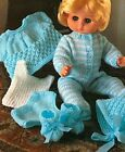 Choose From 49 Dolls Clothes/teddies,toys Knitting Patterns