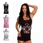 NPC gym tanks for women, Womens workout tank top, racerback tank, Fitness Shirt