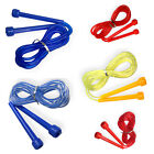 Plastic Skipping Rope Fitness Jump Speed Exercise Cardio Workout Boxing Sports
