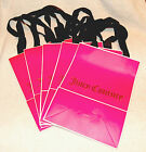 """NEW Pink Juicy Couture 11.5"""" x 8.5"""" x 4.25"""" Gift Shopping Bag w/ Ribbon Handles"""