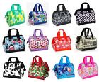 NEW SACHI INSULATED LUNCH BAG Tote Storage Container Carry Strap 17 DESIGNS