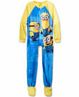 Despicable Me Minions Footed Blanket Sleeper Pajamas Sizes 4 - 6 - 8 NWT