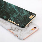 Ultra-thin Hard PC Marble Granite Texture Glossy Case Cover For iPhone 7 7 Plus