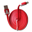 Extra Long 8 Pin 2 meter USB Sync+charger Cable for iPhone 5/5c/5s in 6 Colors