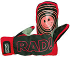 Rad Smitten Men's Snow Ski Mitts Mittens in Fire Red Size M,L