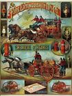 Fire Extinguisher Mfg. Co Vintage Ad Wall Print POSTER