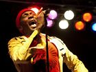 Jimmy Cliff Reggae Singer Legend Onstage Wall Print POSTER