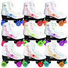 KINGDOM VECTOR QUAD ROLLER SKATES KIDS LADIES 5 COLOURS SIZE 11-7UK