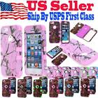 Shockproof Impact Pink Tree Camo Generic Hard Case Cover For iPhone 4/5/6/6Plus
