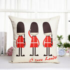 Lovers Cotton The National Flag Blend Pillow Case Sofa Bed Office Cushion Cover