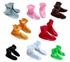 Xmas Halloween Party Solid Color Kid Child Unisex Baby Shoes Costume School Play