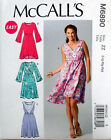 MCCALL'S SEWING PATTERN DRESS PULLOVER 4 VARIATIONS EASY SZ 4-14 or16-26 # M6890