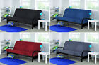 "Black Frame Futon 6"" Mattress Set Day Bed Couch Sofa Recliner Sleeper Folding"