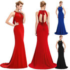 New Women Sexy Mermaid Long Prom Dresses Evening Party Cocktail Bridesmaid Dress