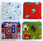 CHILDREN FOOTBALL ROBOT BIRD DINOSAUR COTTON FABRIC HANDMADE COIN PURSE E282