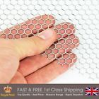 6mm Hexagonal Hole Mild Steel Perforated Sheet - 6.7mm Pitch- 1mm Thickness