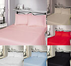 Thermal Flannelette 100% Brushed Cotton Duvet Cover With Pillow Case Bedding Set