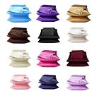 2 Pieces of Soft Charmeuse Satin Pillowcases, Multi Size/Color image
