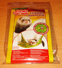 NEW COSY Hanging/ Swing Fur Lined Ferret & Rat Deluxe Snuggle HAMMOCK