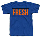 "The ""Fresh"" SHIRT IN FOAMPOSITE NY KNICKS TOTAL CRIMSON GAME ROYAL BLUE COLORWAY"