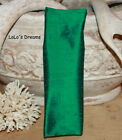 SALE Chandelier Chain Cord Cover~SLIP-ON~Emerald Dupioni Silk 3ft/6ft/9ft