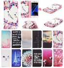 New Fashion Present PU Leather Flip Cover Case & Card Slot for Samsung Galaxy S7