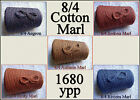 *FREE SHIP* Soft 8/4 Cotton Marl *5 Color Choices* Cone Yarn Knit Weave Crochet