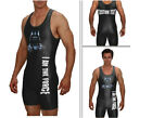 Powerlifting singlet  THE FORCE singlet includes custom text
