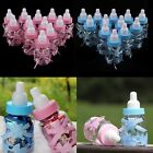 12/24 x Mini Fillable Bottle Girl/Boy Christening Gift Baby Shower Favours Party