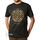 MEN'S PRINT T-SHIRT - CELTIC SYMBOL SCOTLAND - GREEN - SIZE OPTIONS!