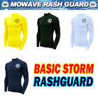 Mowave men's rashguard athletic swimwear surfing shirts compression baselayer