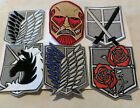 Attack on Titan Regiment Patches