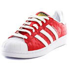 adidas Originals Superstar Animal Unisex Trainers Leather Red White New Shoes